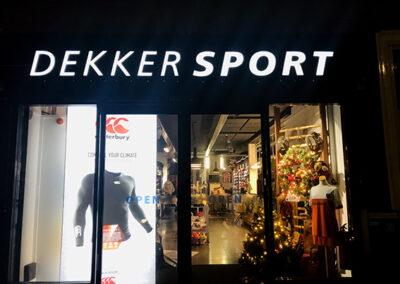 Gevelverlichting Dekker Sport