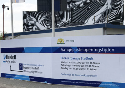 Bouwborden Gemeente Den Haag Centrum