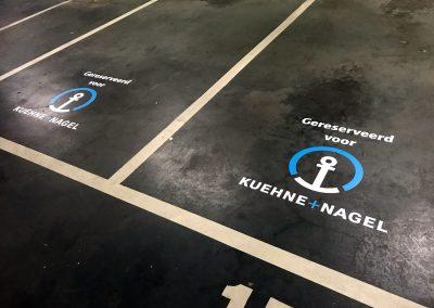 Kuehne Nagel Parking signing